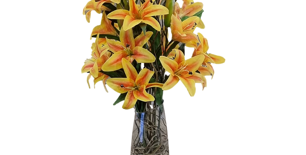 Lilis en cristal