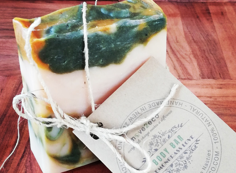 Natural Handmade - Lemongrass - Soap