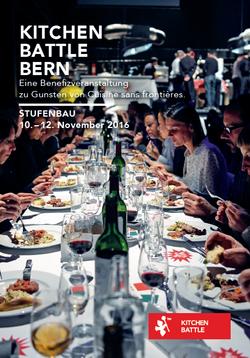 Kitchenbattle for Cuisine sans frontieres 2016 - Bern