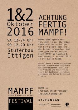 MAMPF Essen und gegessen werden 2016 - Bern