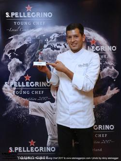 Winner S. Pellegrino Young Chef 2017 - Zürich
