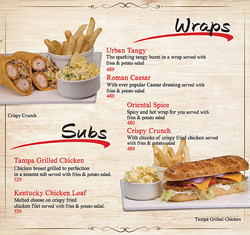 Subs & Wraps