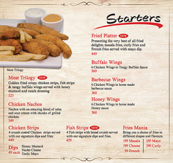 Starters to Begin With