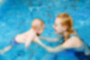 Baby swimming lesson at Sport Point Pattaya