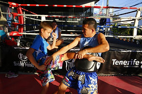 Kids Muay Thay Training at Sport Point Pattaya