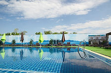 Swimming pool at Sportpoint Pattaya