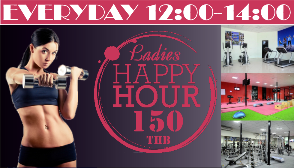 Ladies happy hour at Sportpoint Pattaya