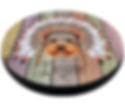 Круглая лежанка для животных Perseiline