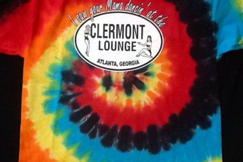 Clermont Lounge Tye Dye T-Shirt - Red Center