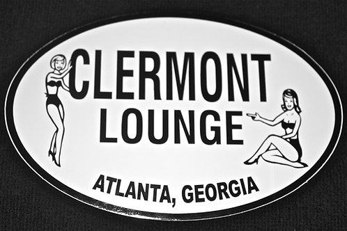 Clermont Lounge Bumper Sticker