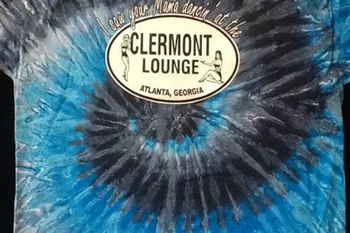 Blue Clermont Lounge Tye Dye
