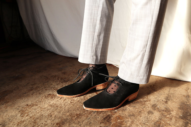 Handmade Leather Booties - RHL