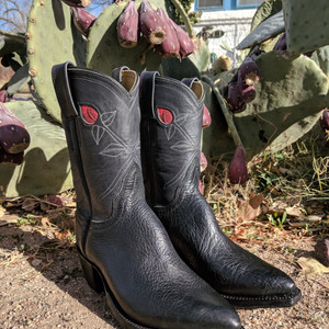 Rose Cowboy Boots