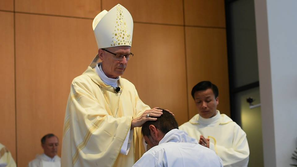 Mark Rucci Ordained to the Diaconate