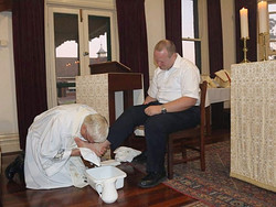 Washing of the Feet - Fr. Phillip
