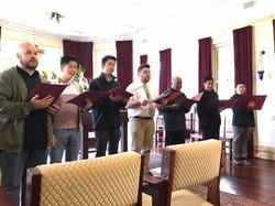 Choir Rehearsal for Clergy Day Mass 2017