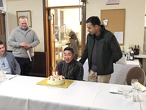 Celebrating Savio's Birthday - 2017