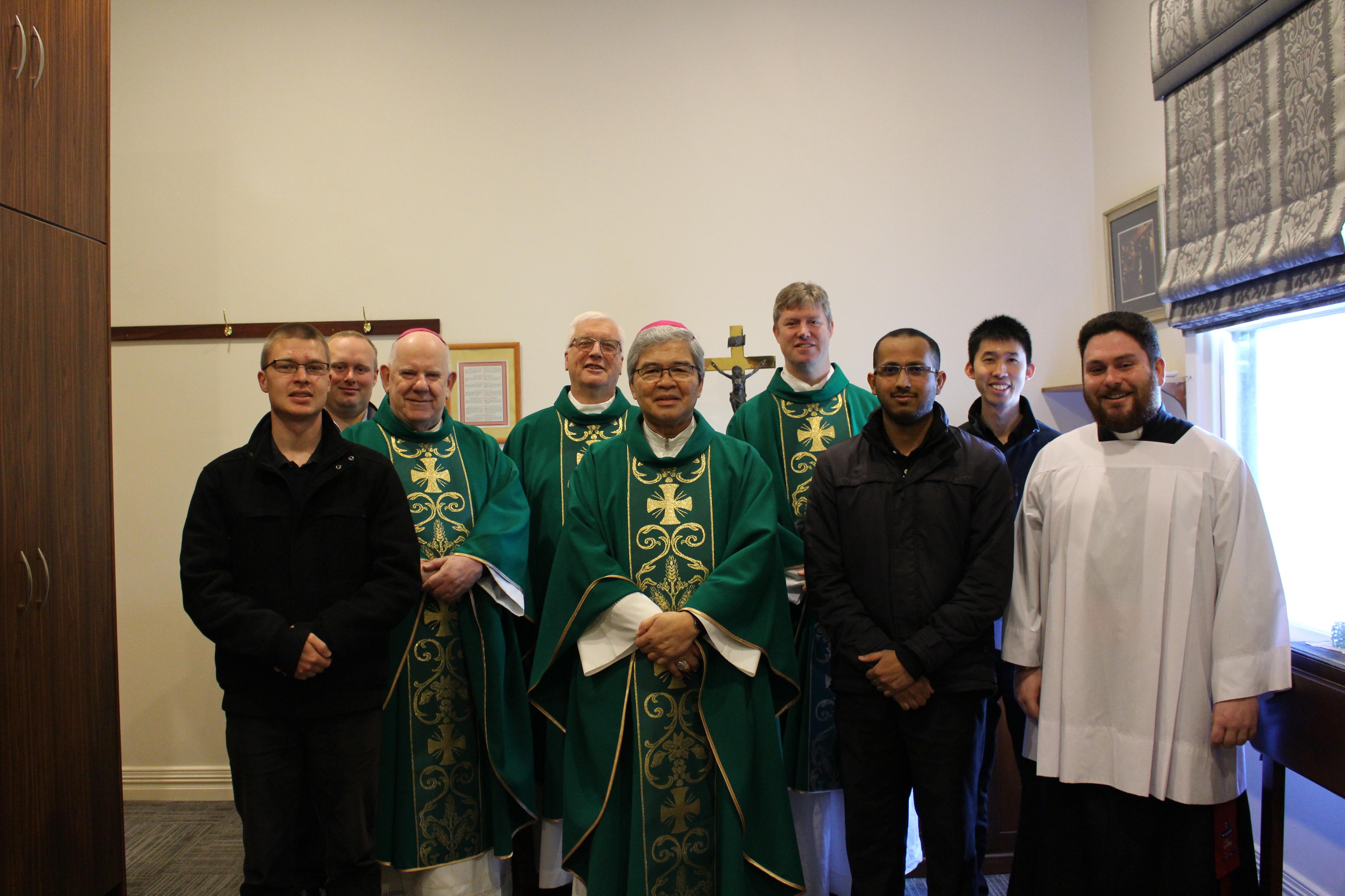 Apostolic Nuncio Visit