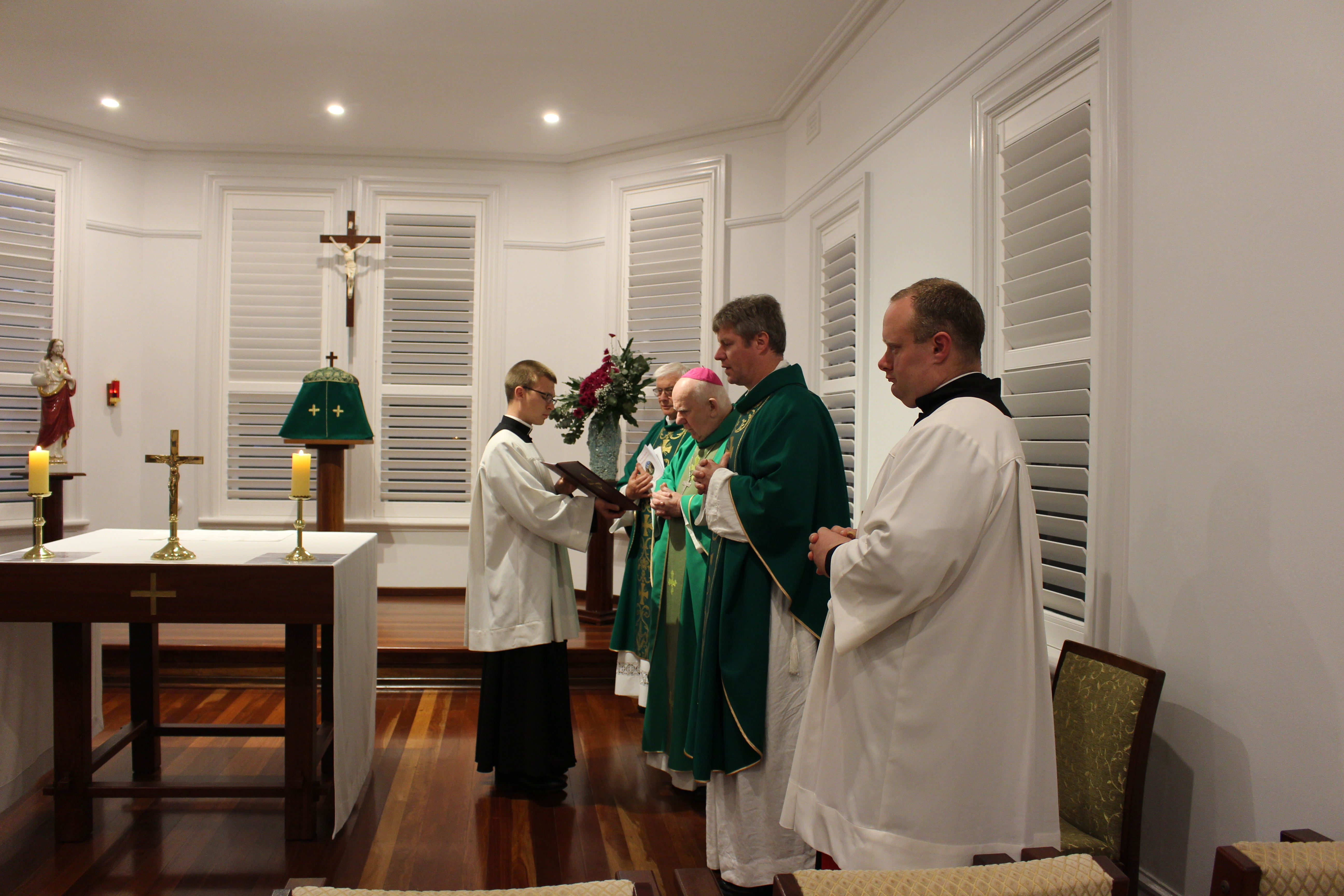 Nathan Installed as Lector