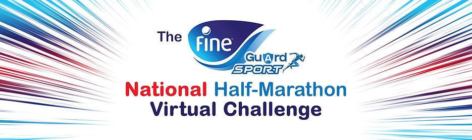 fineguard virtual half marathon logo ban