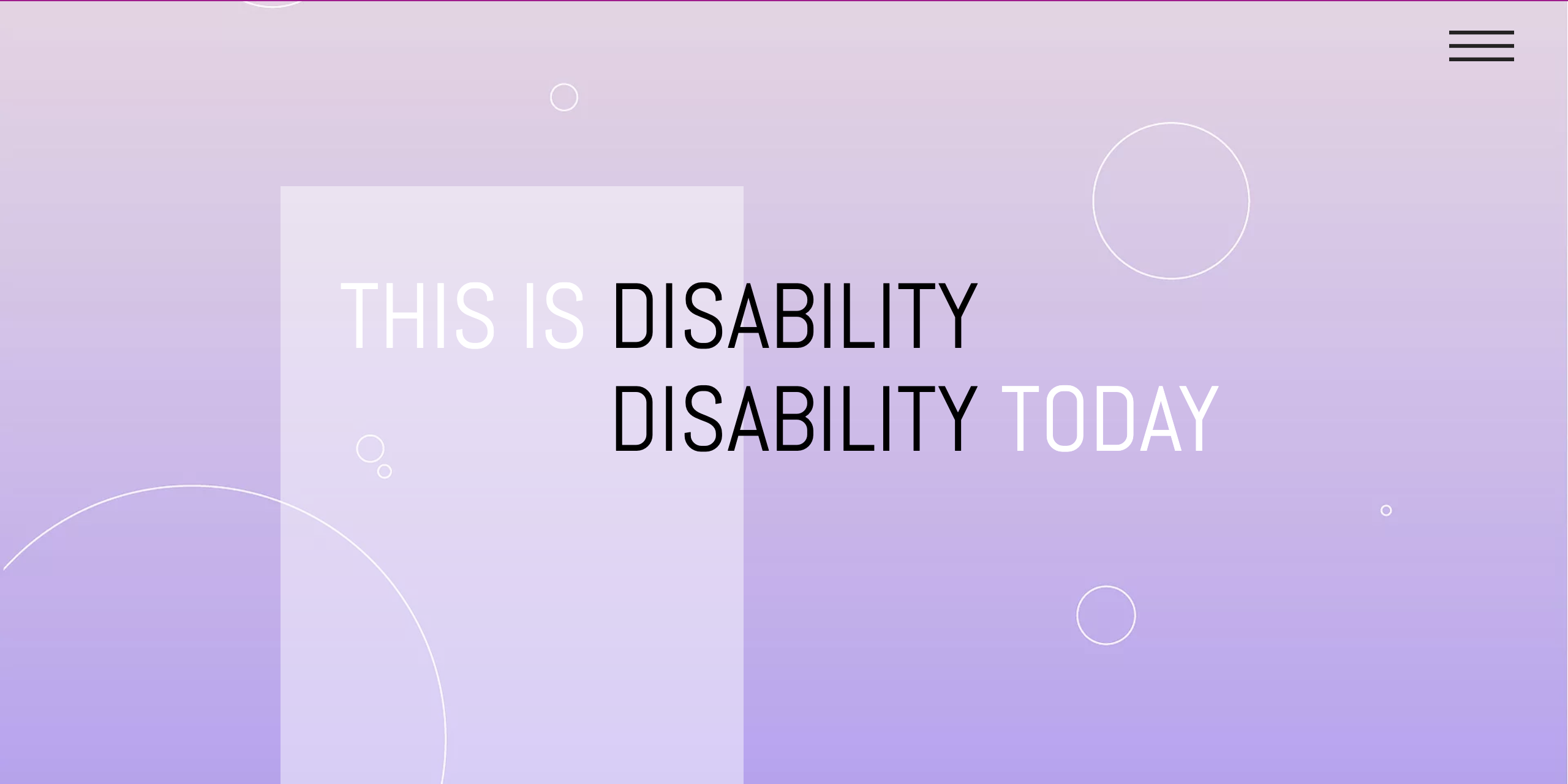 THIS IS DISABILITY TODAY