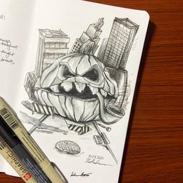 Old Grandpa Pumpkin