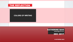 COLORS OF WRITING #6