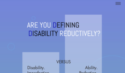 ARE WE DEFINING DISABILITY REDUCTIVELY_.