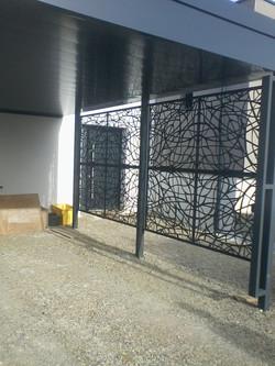 portail en ferronnerie