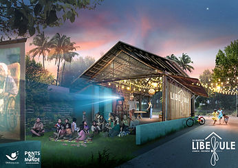 Projet Maison Libellule-Vue de nuit
