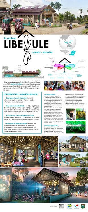 Projet Maison Libellule-Kakemono de présentation
