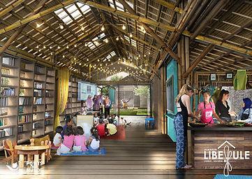 Projet Maison Libellule-Vue intérieure