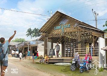 Projet Maison Libellule-Vue de l'entrée