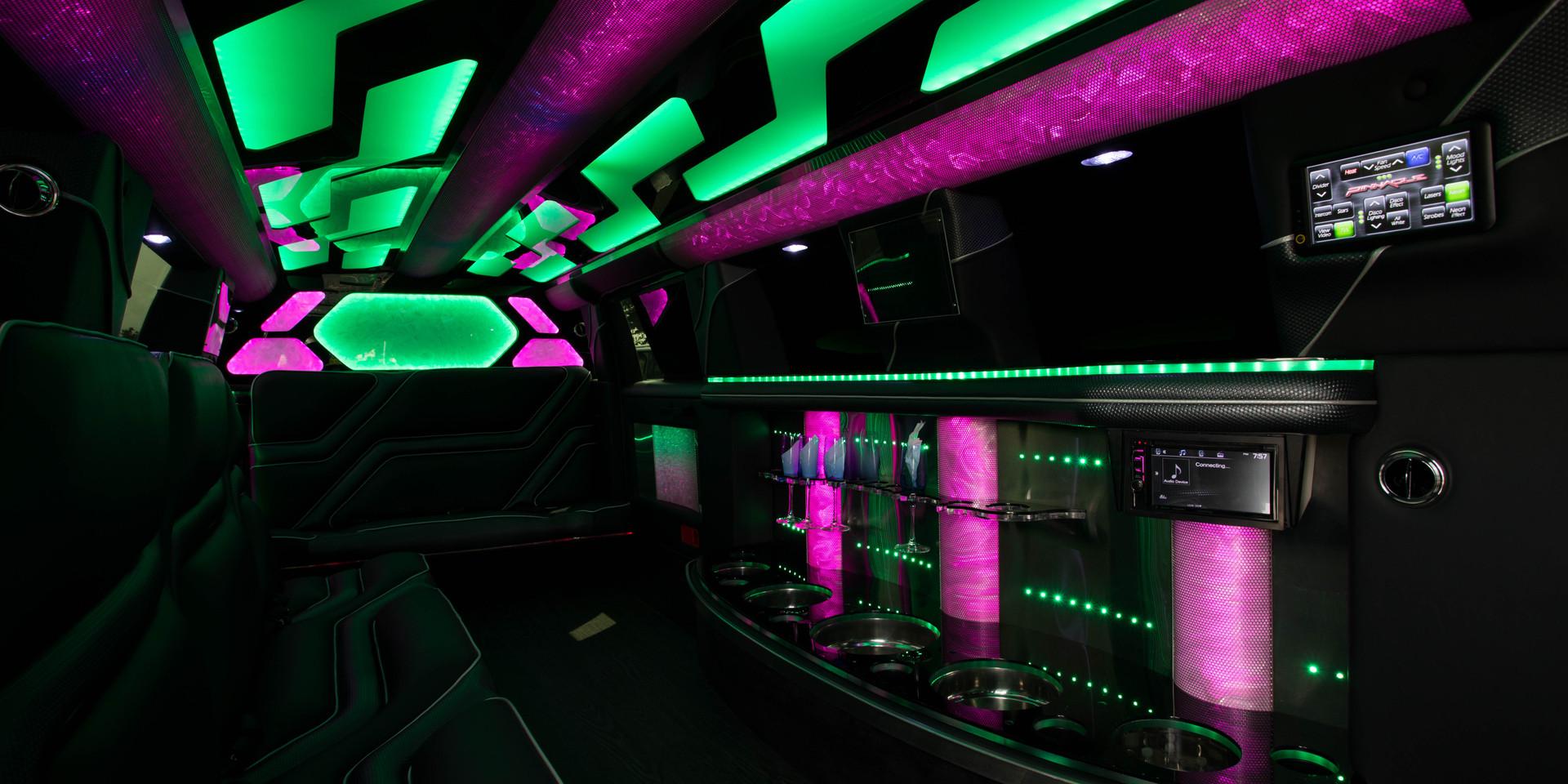 Jeep Limo Interior 6