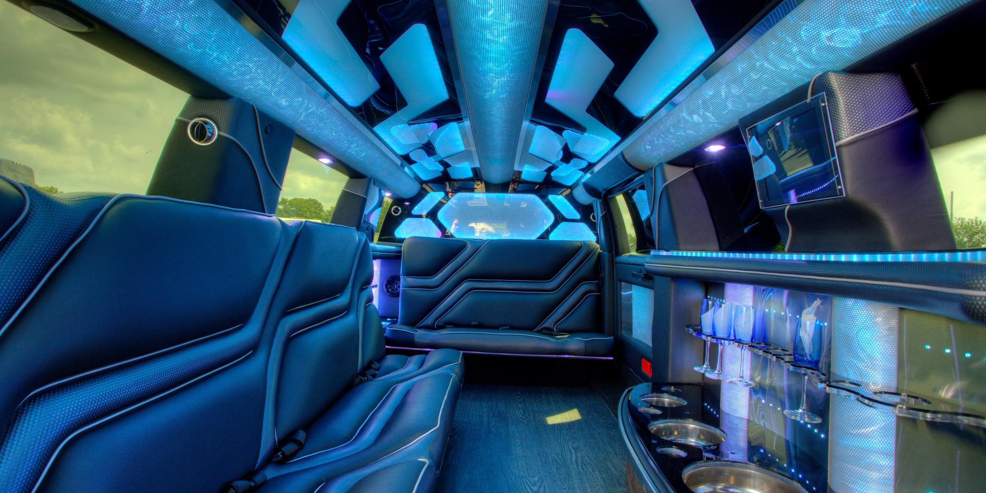 Jeep Limo Interior 12