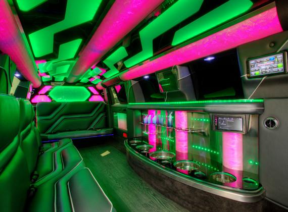 Jeep Limo Interior 1