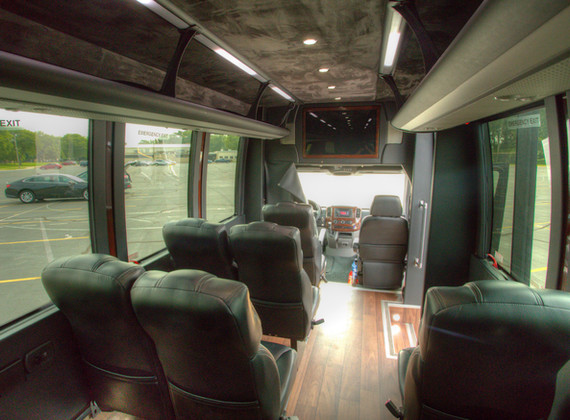 Sprinter Shuttle Interior 7