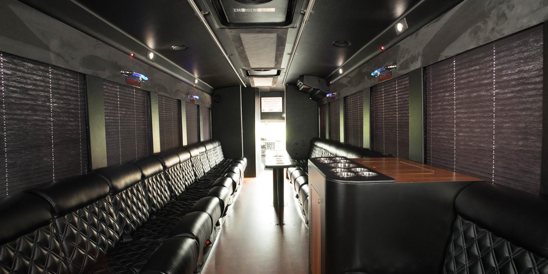 Party Bus Interior 4