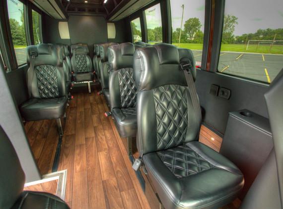 Sprinter Shuttle Interior 3