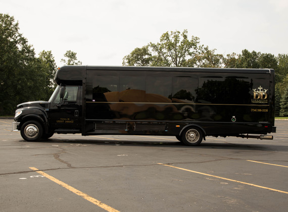 Party Bus Exterior 3