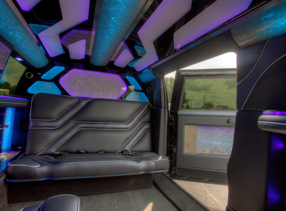 Jeep Limo Interior 4