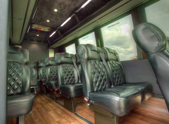 Sprinter Shuttle Interior 1