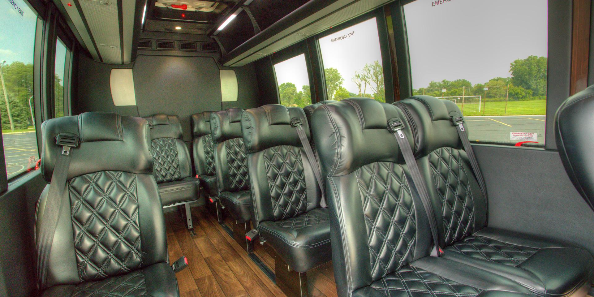 Sprinter Shuttle Interior 2