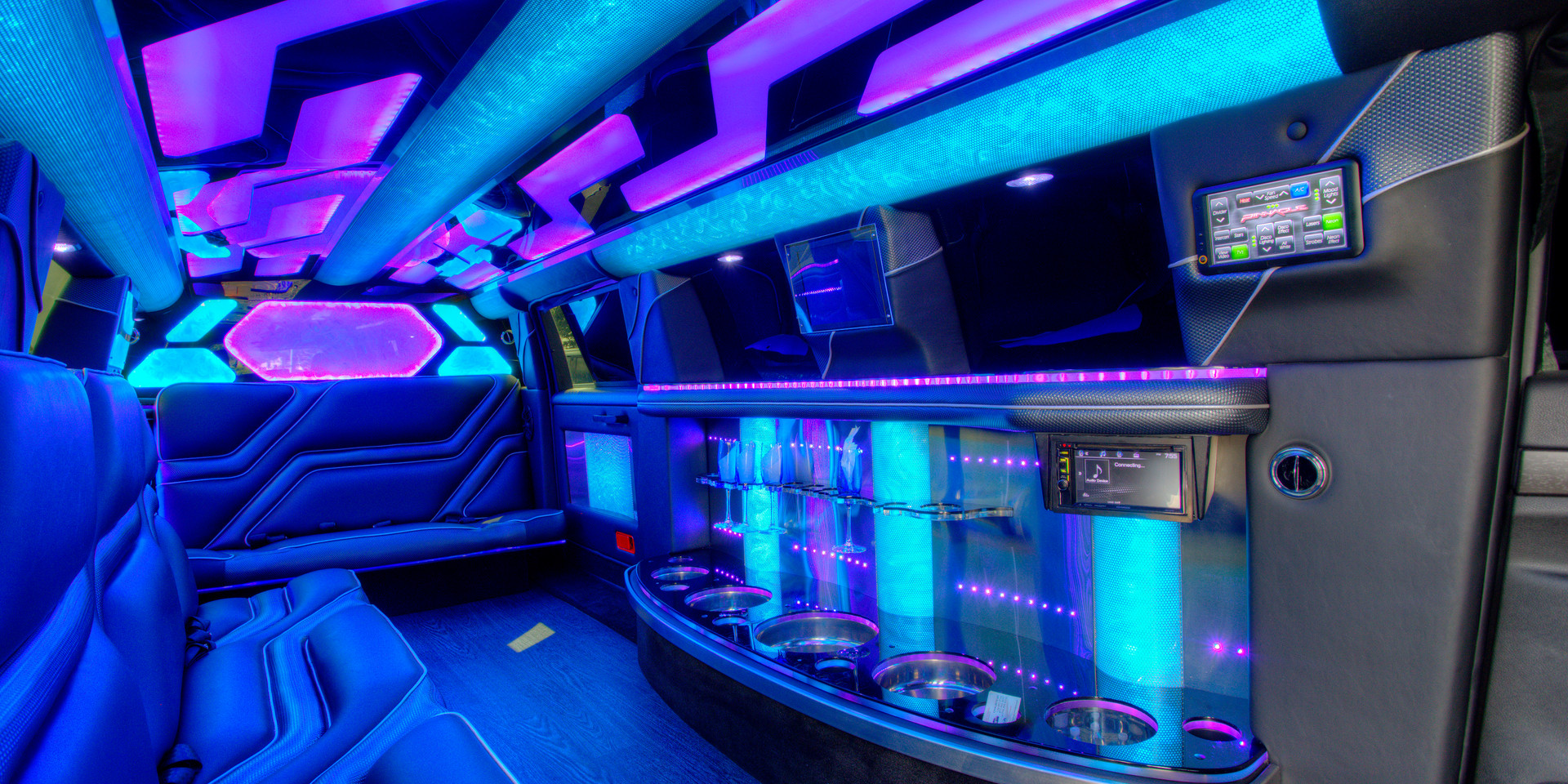 Jeep Limo Interior 10
