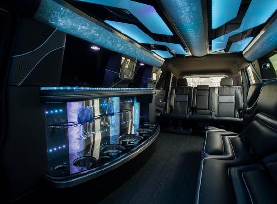 Jeep Limo Interior 2