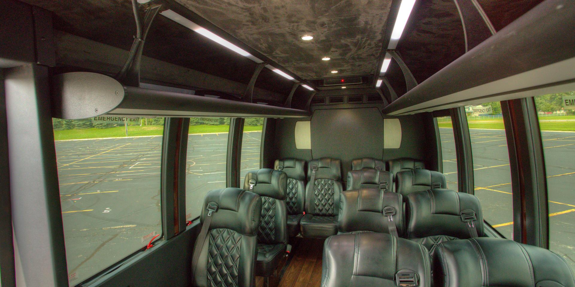Sprinter Shuttle Interior 5