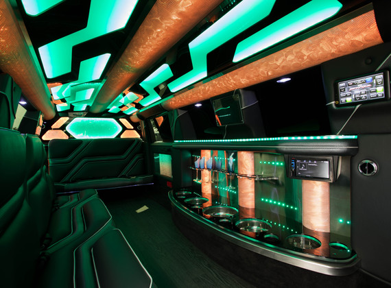 Jeep Limo Interior 9
