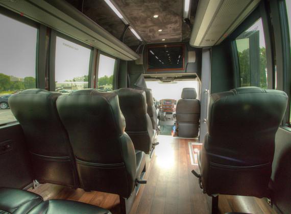 Sprinter Shuttle Interior 6