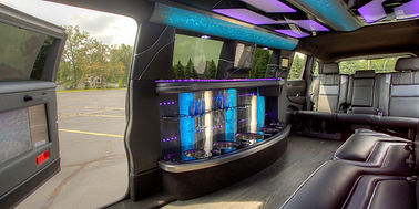 Inside the Jeep Limo