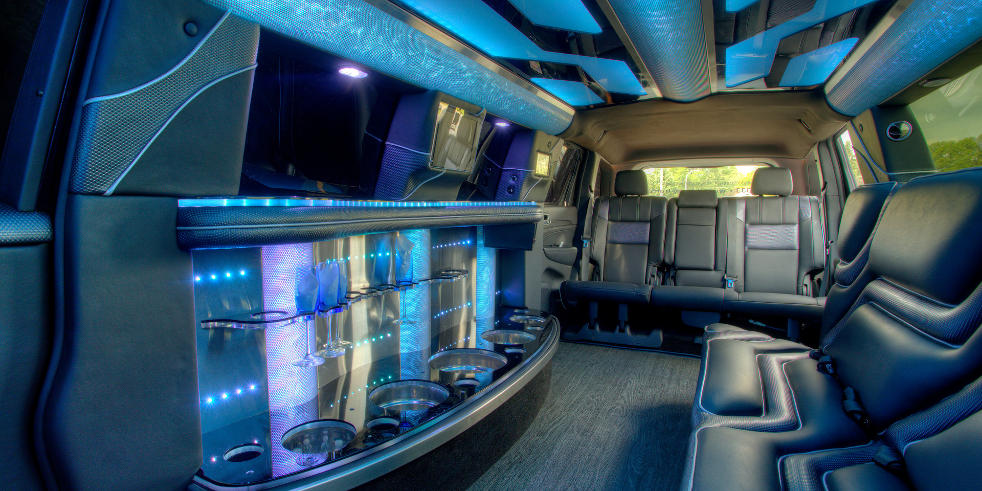 Jeep Limo Interior 11